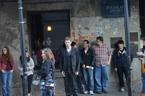 Joseph morgan in NOLA (4x20 The Originals)