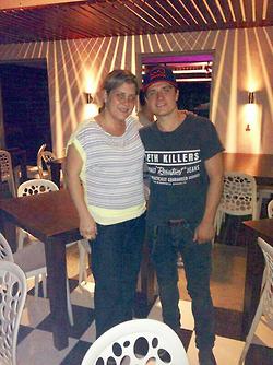 Josh Hutcherson In Panama.