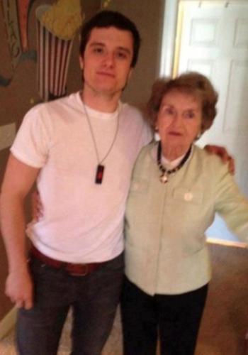 Josh & his grandma