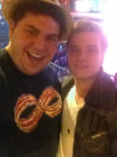 Josh with a Фан