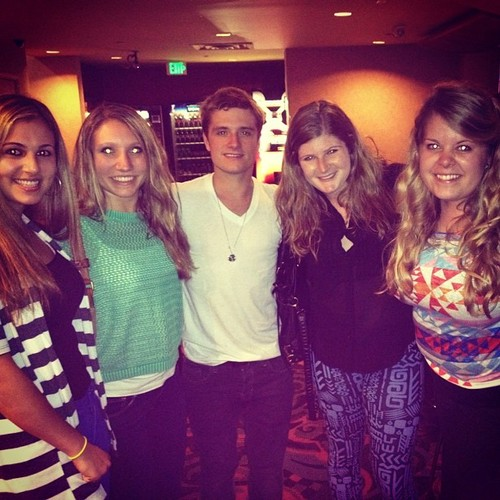 Josh with fans (3/11/2013)