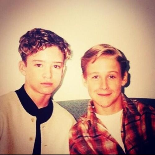 Justin Timberlake and Ryan papera, gosling