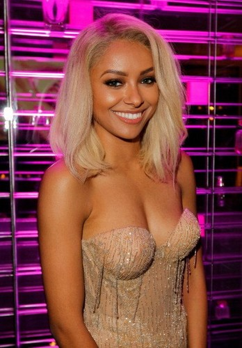 Kat Graham at Victoria's Secret SWIM 2013 Party