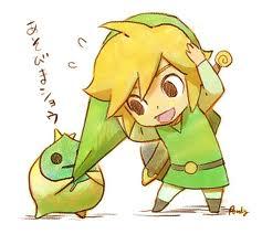 Kawaii Link and Mako