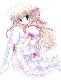 Kawaii Anime wallpaper called Kawaii anime girl
