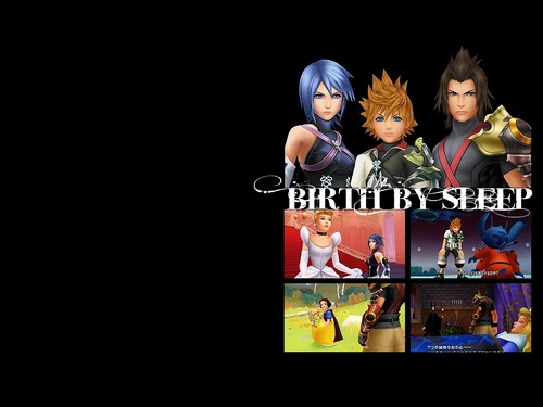Kingdom Hearts Birth kwa Sleep Characters