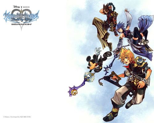 Kingdom Hearts Birth oleh sleep