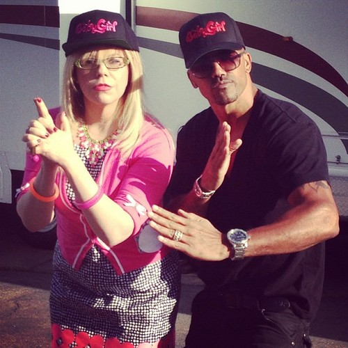 criminal minds wallpaper entitled Kirsten & Shemar