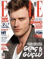 Kivanc Tatlitug on the cover of Elle Magazine 2013