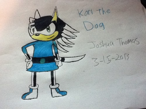 Kori the Dog (belt added)