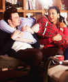 Kurt &amp; Santana  - glee photo