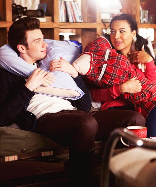 Kurt & Santana