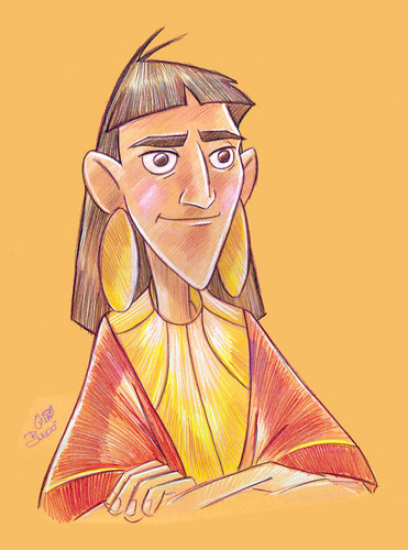 Childhood Animated Movie Heroes wallpaper probably containing anime entitled Kuzco