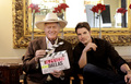 Larry Hagman & Josh Henderson - dallas-tv-show photo