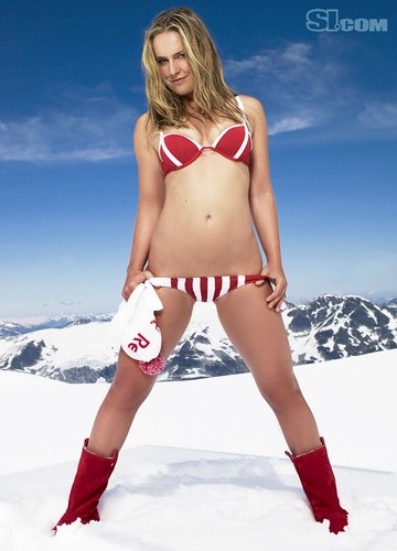 swimsuit si wallpaper with a bikini called Lindsey Vonn: 2010 Issue