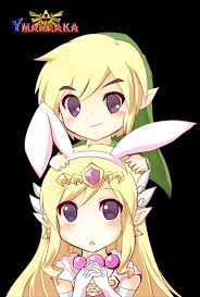 Link and Zelda Bunny চিবি