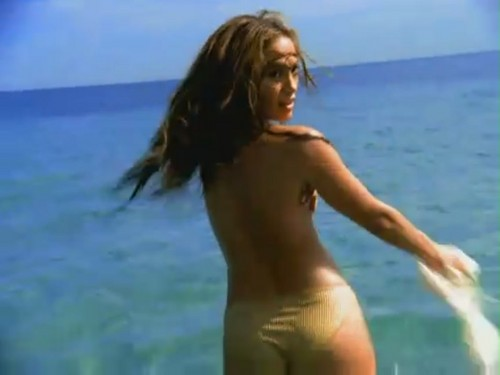 Jennifer Lopez wallpaper containing skin entitled Love Don't Cost A Thing [Music Video]