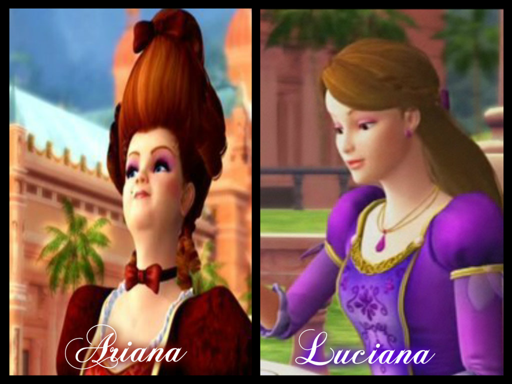 Luciana and her mom