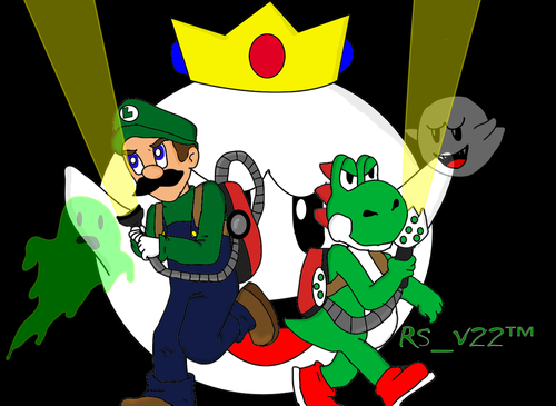 Yoshi wallpaper containing anime entitled Luigi Gets His Hero On: Hooray for 20 Chapters!
