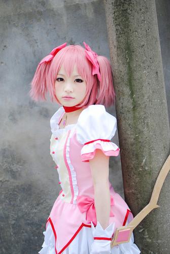 Madoka Magica cosplay