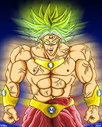 Dragon Ball Z پیپر وال with عملی حکمت titled Majin Broly