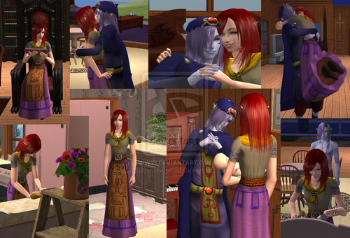 Malon and Vaati's Married Life