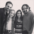 March-2013 Riley Matthews with Her 2 fav.Uncles!!!! - boy-meets-world photo