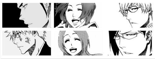 Masaki and Orihime, Isshin and Ichigo