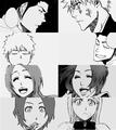 Masaki and isshin and Ichihime