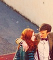 Matt and Karen  - matt-smith-and-karen-gillan photo
