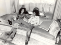 Michael And Older Sister, LaToya In New York City Back In 1977 - michael-jackson photo