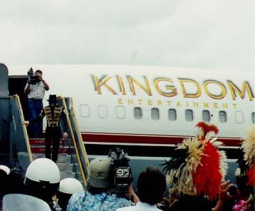 Michael Arriving In Hawaii Back In 2007