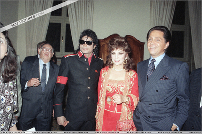 Michael At A Party At The American Embassy Back In 1988