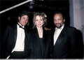 Michael With Quincy Jones And Former Wife, Peggy Lipton - michael-jackson photo