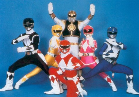 Memorable TV 바탕화면 entitled Mighty Morphin Power Rangers!