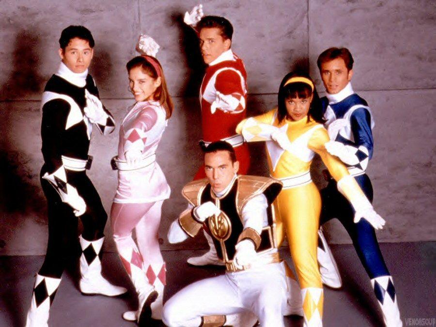 Memorable TV Mighty Morphin Power Rangers!