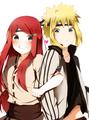 Minato and Kushina. <3