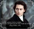 Movie quote - Sleepy Hollow - movies fan art