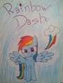 My Dashie Drawing :3 - my-little-pony-friendship-is-magic fan art