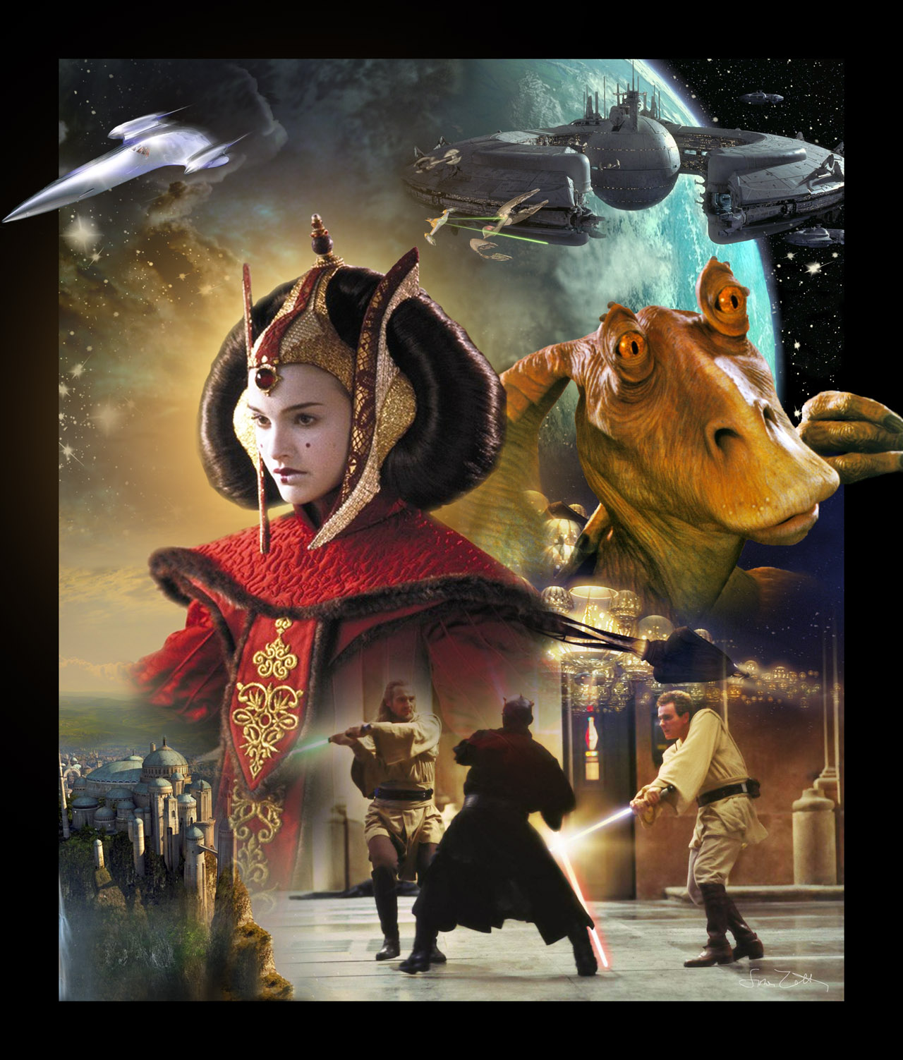Naboo Episode I Star Wars The Phantom Menace Photo 33973156 Fanpop