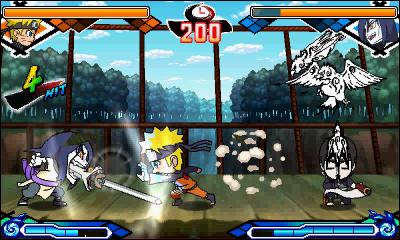 Naruto videogame