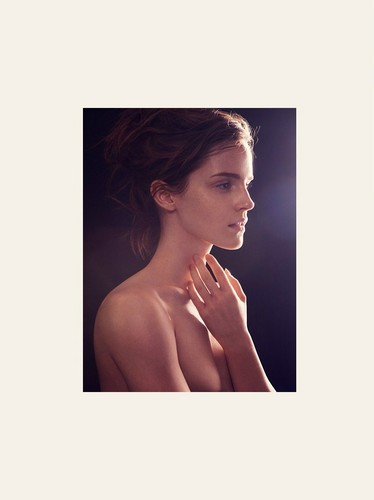 Emma Watson wallpaper containing skin and a portrait called Natural Beauty by James Houston