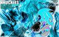 Negative Knuckles - sonic-the-hedgehog wallpaper