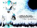 Negative Shadow - shadow-the-hedgehog wallpaper