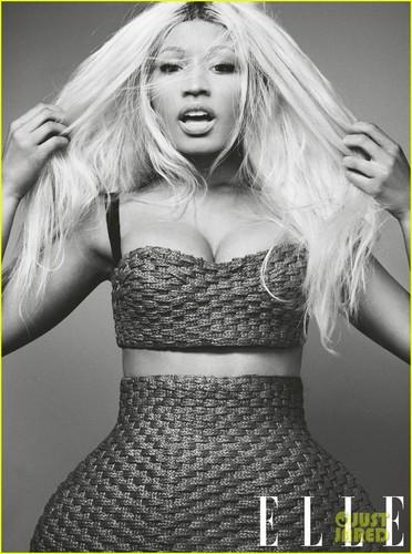 Nicki - Elle Magazine (April 2013)