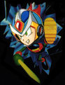 Ninja Mega Man X - whatever-happened-to fan art