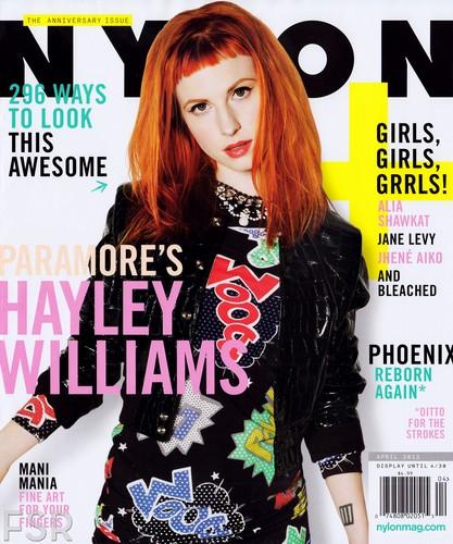 Nylon magazine April 2013