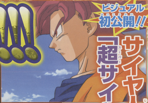 Official Super Saiyan God - dragon-ball-z Photo