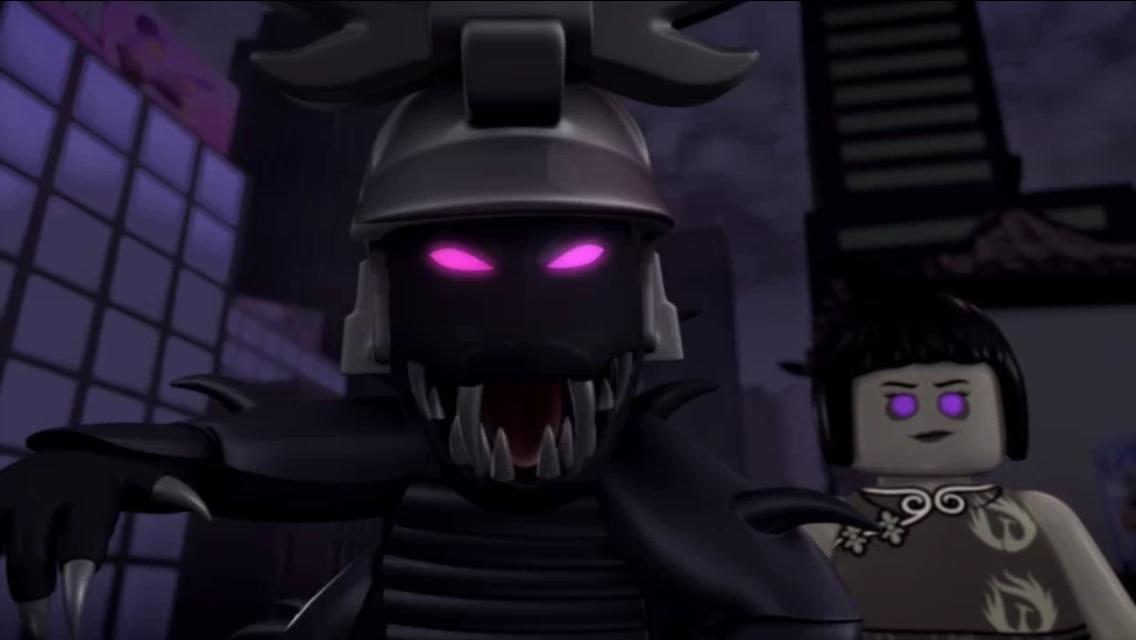 Overlord possessed Garmadon