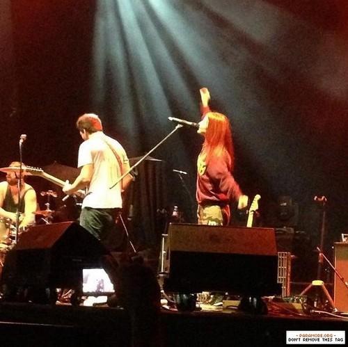 Paramore live at Bukit Kiara Indoor Arena, Kuala Lumpur, Malaysia 17022013
